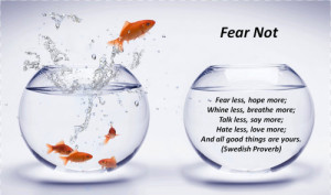 motivational quotes on fear: