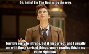 Doctor Who Funny Quotes David Tennant 30+ doctor who quotes david