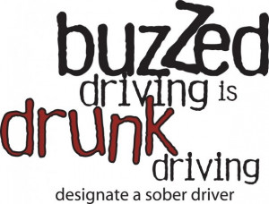 dont drink and drive!!