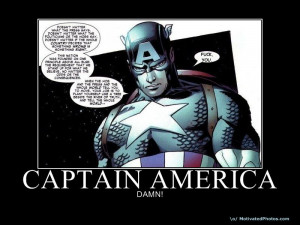 CaptainAmerica - Superhero Mativationals