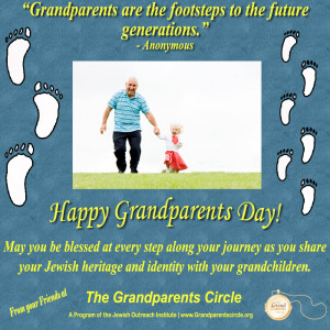 """Grandparents Are The Footsteps To The Future Generations """""""