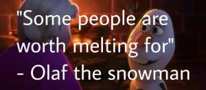 olaf the snowman ⛄️