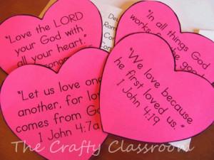 Valentine Bible verses-so cute!