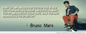 Bruno Mars Quote