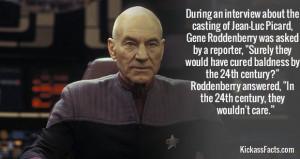 Jean-Luc Picard's baldness