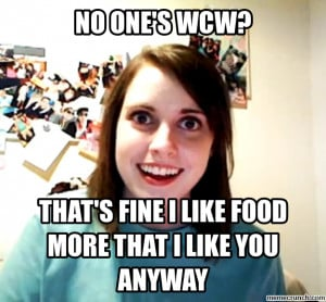 Generate a meme using Overly Attached Girlfriend