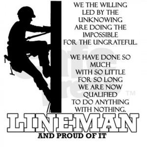power lineman quotes source http followpics co lineman