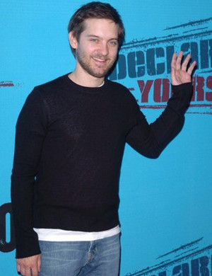 Tobey Maguire supports Declare Yourself , a non-profit national non ...