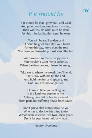 Pet Loss Poems And Quotes Quotesgram