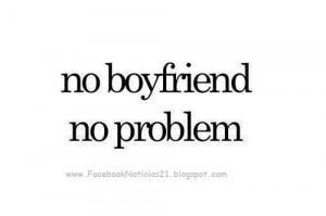 No BoyFriend, No Problem | Imagen para Facebook