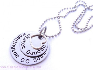 LDS Sister Missionary Personalized Jewelry Necklace Mormon Called to ...