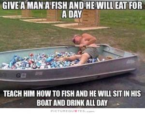funny fishing boat