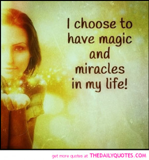 Quotes On Miracles Of Life