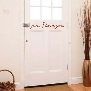 Love You Wall Design