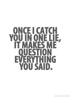 Once a liar always a liar...no matter how much you want to believe ...