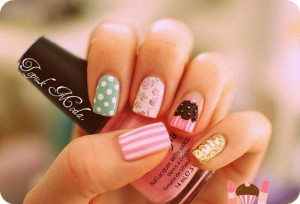 amazing, cute, fashion, nail, nail polish, nails, pink
