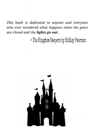 The Kingdom Keepers by Ridley Pearson. All about Disney!