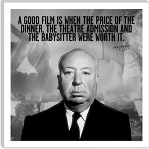 Hitchcock Quote #film #movies #cool #posterJoseph Hitchcock, Film ...