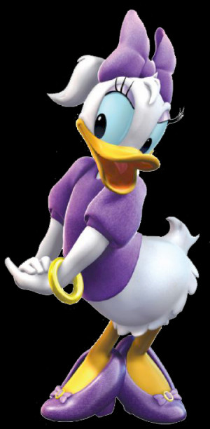 Daisy Duck Clipart Credited