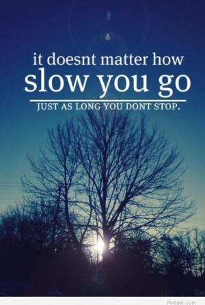 Don't stop quote