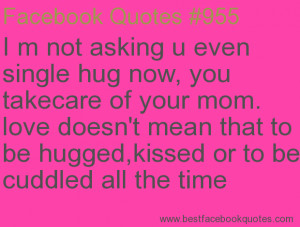 Love Mom Quotes For Facebook