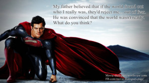 Superman Man Of Steel Quotes Man of steel quotes
