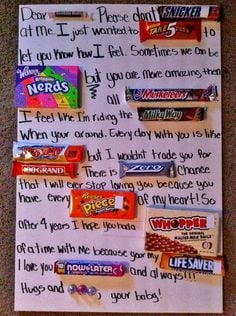 candy posters for boyfriends teens christmas | ... decided to take it ...