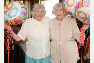Bristol twin sisters celebrate 90th birthdays with double party