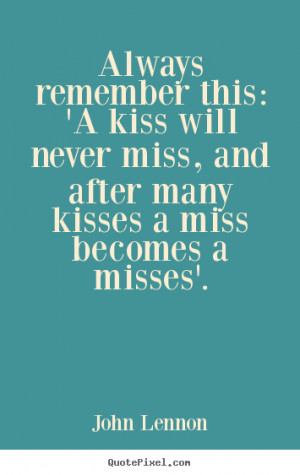 love quotes about kissing
