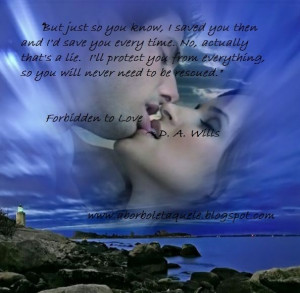 Forbidden to Love quote