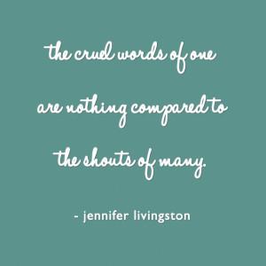 cruel-words-of-one-quote