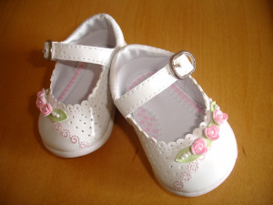 Pretty shoes for a baby girl