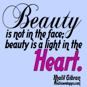 beauty, face, heart, light, quote, quotes, sayings, words