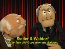 Statler and Waldorf, The Muppet Movie