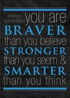 Christopher Robin Quote to Pooh! Great words of wisdom as you Graduate ...