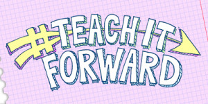 teach it forward graphic