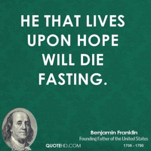 Benjamin Franklin Quotes