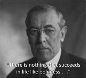 Woodrow Wilson, quotes