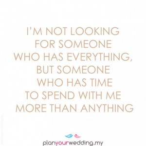 Spend Time with Me Quotes