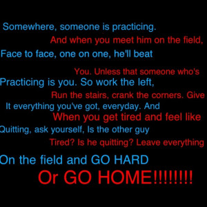 Soccer - Give it everything you've got!
