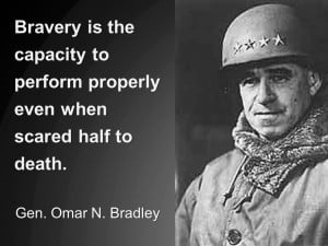 WW II General Omar Bradley