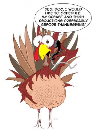 Funny Thanksgiving Turkey by Neeckochichi