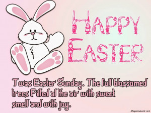 Sunday Quotes And Sayings Easter twas easter sunday.