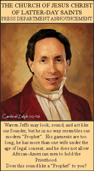 Joseph Smith Warren Jeffs