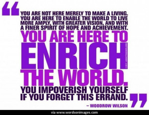 Quotes by woodrow wilson