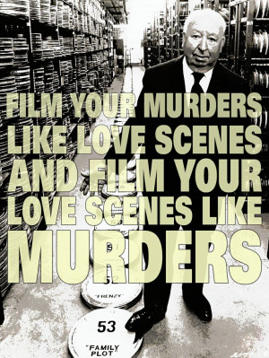 Film Director Quotes - Alfred Hitchcock - Movie Director Quotes # ...