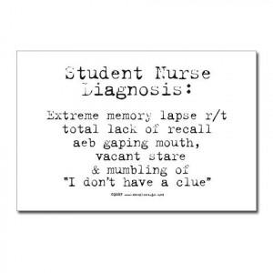 Student Nurse Memory Postcards (Package of 8)