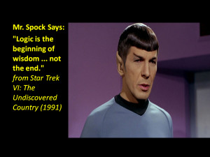 Biography and Quotes by Leonard Nimoy as Spock