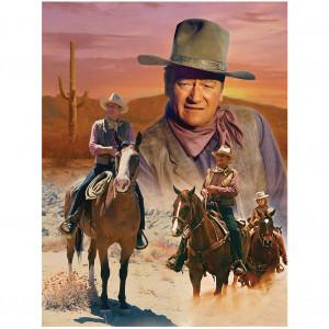 john wayne legendary cowboy challenging 1000 piece jigsaw puzzle john ...
