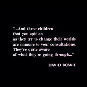 ... Breakfast Club Quotes, David Bowie Quotes, Change Quotes, Best Quotes